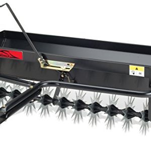 Brinly Tow Behind Combination Aerator Spreader, 40-Inch