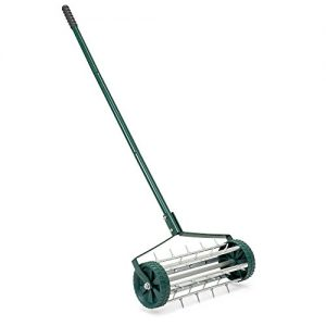 Best Choice Products 18-inch Rolling Lawn Aerator Gardening Tool