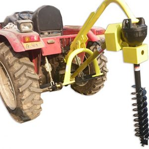 """Titan 30HP HD Steel Fence Posthole Digger w/12"""" Auger 3 Point"""