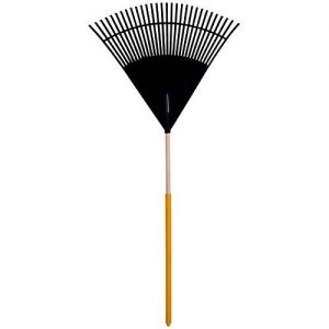 True Temper Clog Free 30-in Lawn and Leaf Rake