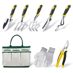 Garden Tools Set, Contains 6 pieces - Transplanter, Including Trowel