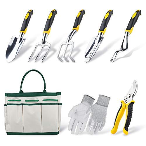 Garden Tools Set, Contains 6 pieces - Transplanter, Including Trowel
