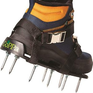 GoPPa Lawn Aerator Shoes - Easiest to USE Lawn Aerator Sandal