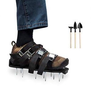Lawn Aerator Shoes with 3 Gardening Tools - Upgraded Heavy Duty