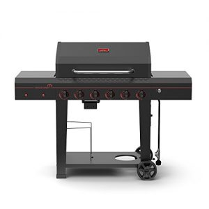 Megamaster Propane Gas Grill, Black