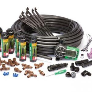 Rain Bird Easy to Install In-Ground Automatic Sprinkler System Kit