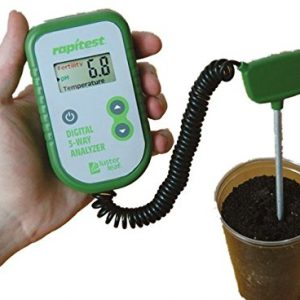 Digital 3 in 1 Soil Tester Analyzer Ph, Fertility, Thermometer Soil