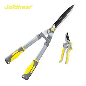 Jardineer 2Pcs Professional Hedge Clippers, 23.6'' Heavy Duty Hedge