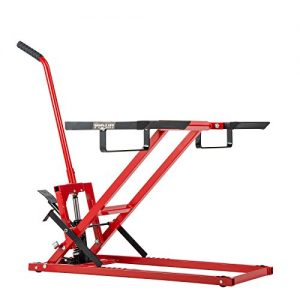 Pro Lift Lawn Mower Jack Lift with 300 Lbs Capacity for Tractors and Zero Turn