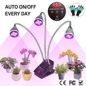 LED Grow Light, Full Spectrum Plant Light for Indoor Plants