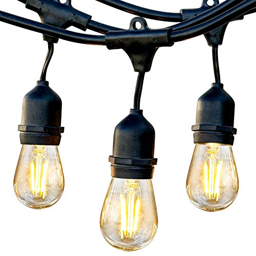 Brightech Ambience Pro - Waterproof LED Outdoor String Lights