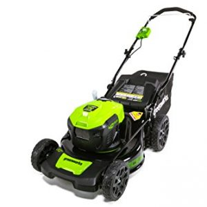 Greenworks 20-Inch 40V Brushless Cordless Lawn Mower, Battery Not Included