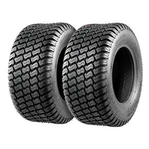 Set of 2 Tires Lawn Mower Tractor, 4PR, Tubeless