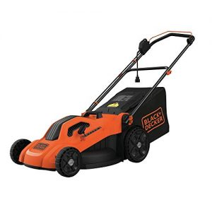 "BLACK+DECKER 20"" Electric Lawn Mower, 13-Amp, Orange"