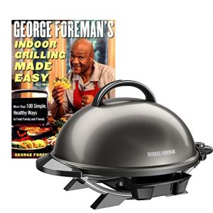 George Foreman GFO240GM Electric Grill Indoor Grilling Made Easy Cookbook