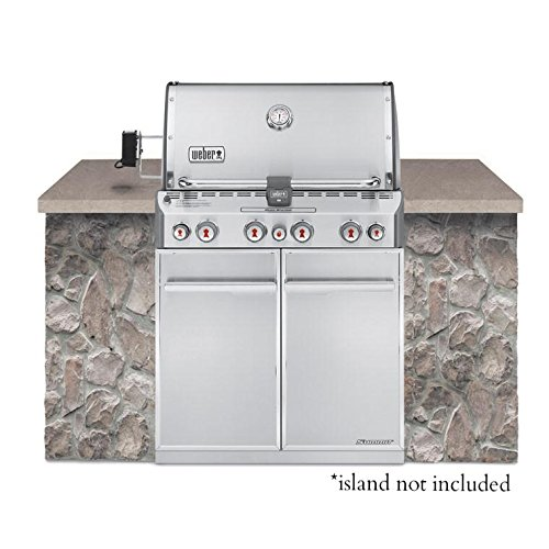 Weber Summit Built-In Natural Gas in Stainless Steel Grill