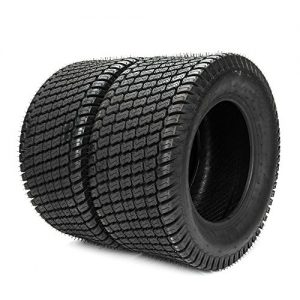 2PCS Tubeless 8Ply Turf Tires for Lawn & Garden Mower