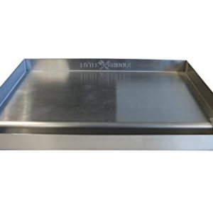 Sizzle-Q 100% Stainless Steel Universal Griddle