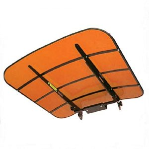 "48"" x 52"" Universal Orange Tuff Top Tractor & Mower Canopy Perfect"