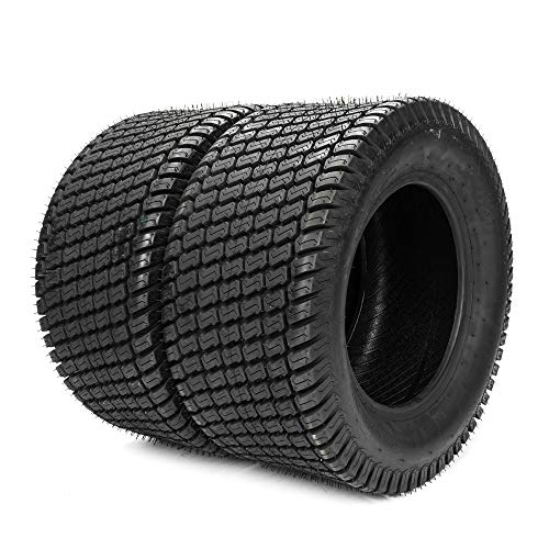 TRIBLE SIX Set of 2 Tubeless Turf Tires 24x12-12 Lawn & Garden