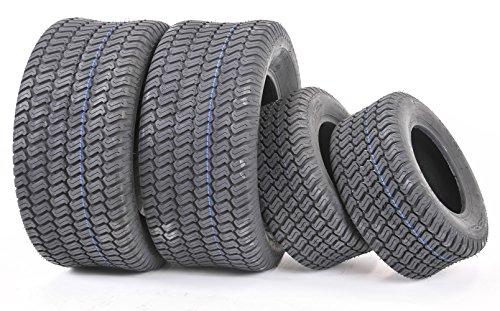 Set of 4 New Lawn Mower Turf Tires Rear