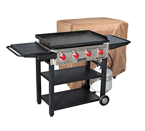 Camp Chef Flat Top Grill 600 with Patio Cover