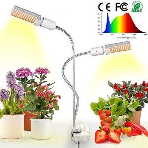 LED Grow Light for Indoor Plant, Relassy Sunlike Full Spectrum Grow Lamp