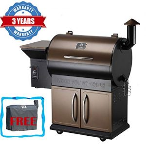 Z Grills Wood Pellet Grill Smoker with 2019 Newest Digital Controls