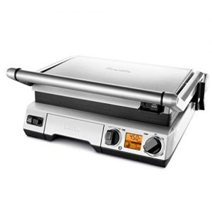 Breville the Smart Grill 1800-Watt LCD High-Sear Indoor Electric Grill