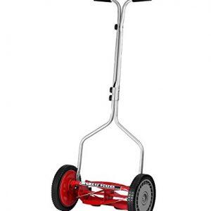 Great States 14-Inch 5-Blade Push Reel Lawn Mower
