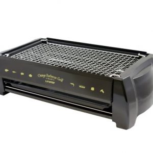 Livart Orange BBQ Deluxe Electric Barbecue Grill