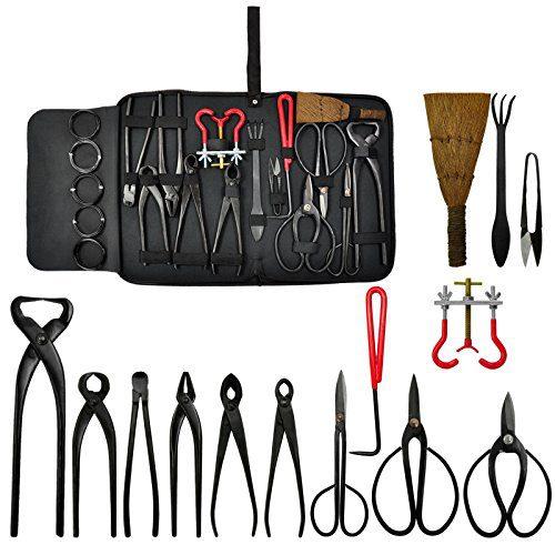 MTN Gearsmith New Bonsai Tool Set Kit Scissors Cutter Carbon Steel