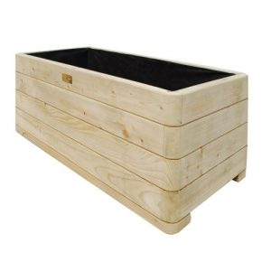 Bosmere Rowlinson Marberry Rectangular Wooden Planter