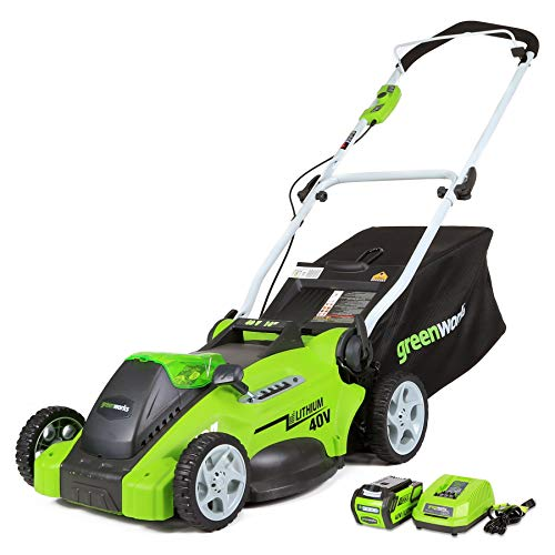GreenWorks Lawn Mower, 16in Battery Included
