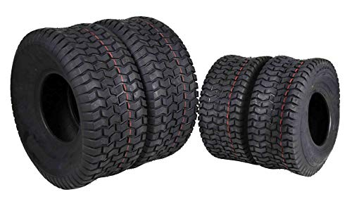 MASSFX 4 New Lawn Mower Tires PLY Four Pack Lawn & Garden