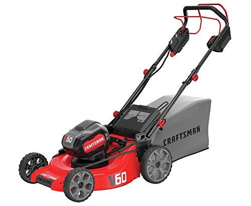 CRAFTSMAN V60 Cordless Lawn Mower, Self Propelled
