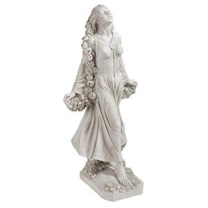 Design Toscano Flora Divine Patroness of Gardens Roman Goddess Statue