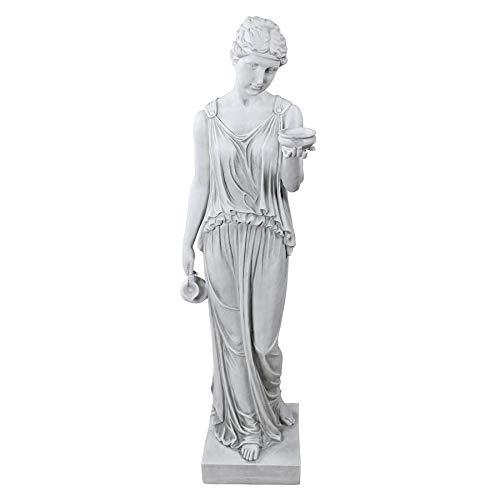Design Toscano Hebe The Goddess of Youth Greek Garden Statue