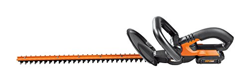 """WORX 20V PowerShare 20"""" Cordless Electric Hedge Trimmer"""