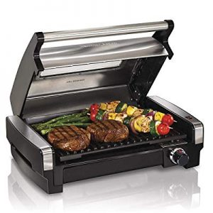 SD LIFE Indoor Outdoor Steel Electric Grill Barbecue Master Smoke