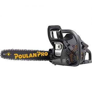 Poulan Pro, 18 in. 42cc 2-Cycle Gas Chainsaw, Case Included