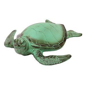 Achla Designs Sea Garden Animal Art Sculpture Statue Turtle