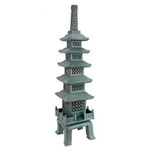 Design Toscano The Nara Temple Pagoda Asian Decor Garden Statue