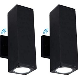 Cloudy Bay LED Outdoor Wall Lamp,Dusk To Dawn Photocell