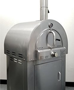 "30.5"" LPG Propane Gas Stainless Steel Artisan Pizza Oven or Grill"