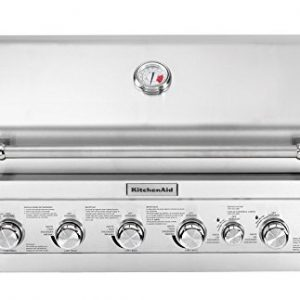 KitchenAid Built Propane Gas Grill, Stainless Steel