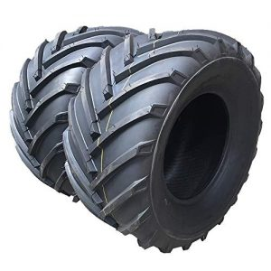 Set of 2 Tubeless Load Range B Turf Tires for Lawn & Garden Mower