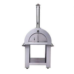 """32.5"""" Wood Fired Stainless Steel Artisan Pizza Oven or Grill"""