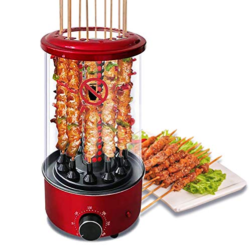 Li Bai Vertical Rotisserie Roaster Oven Smart Electric BBQ Grill
