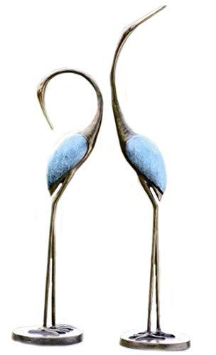 SPI Home Stylized Garden Crane Pair Sculpture